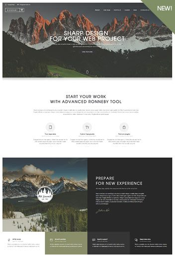 One page navigation